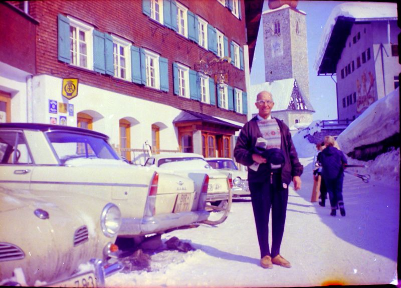 #117 Rowland Stebbins in Kitzbuhel Austria 6 Mar'65