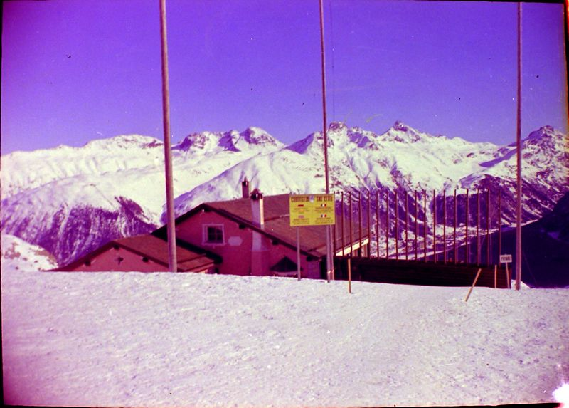 #28 Coriglia Ski Club Bldg St Moritz Switzerland 3 Feb'64