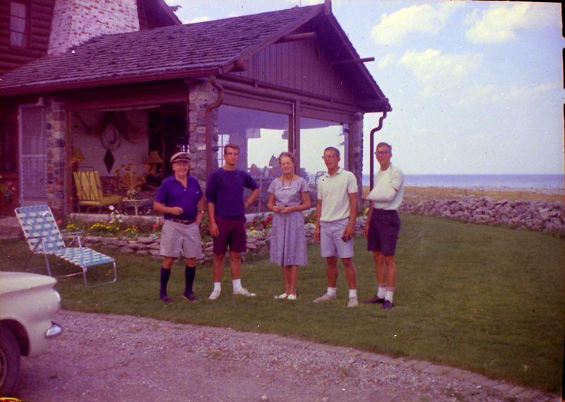 #97 Francis-Malcolm-ANnette-Winston-Kenyon Stebbins Presque Isle MI Summer'64