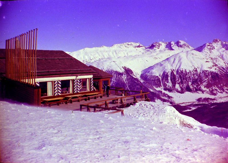 #27 Coriglia Ski Club Bldg St Moritz Switzerland 3 Feb'64