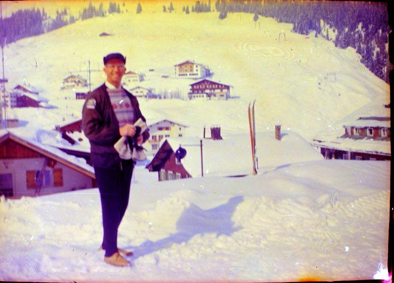 #120 Rowland Stebbins St Anton Austria mabe Beino Rybiska home 7 Mar'65