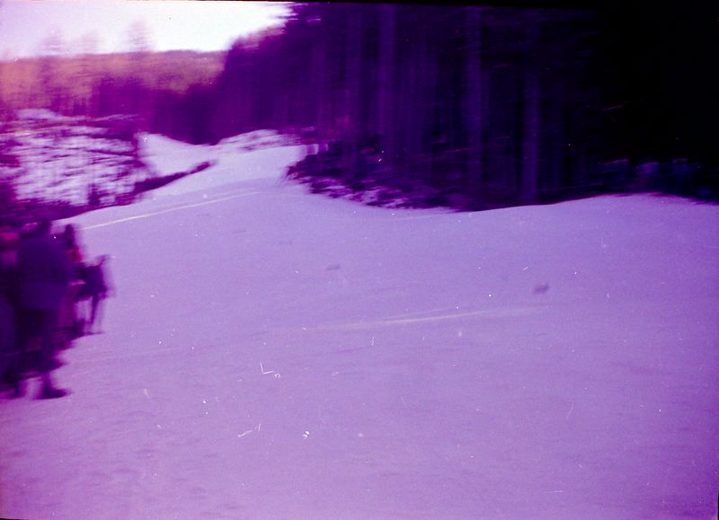 #19 Men';s Downhill race course Innsbruch Olympics 30 Jan'64