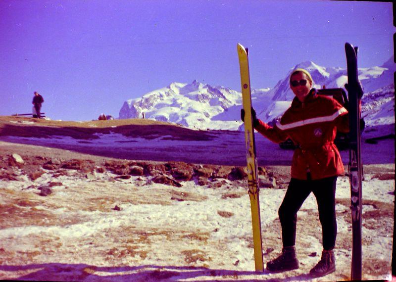 #48 Rowland Stebbins'  Guide in Zermatt 6 Feb'64