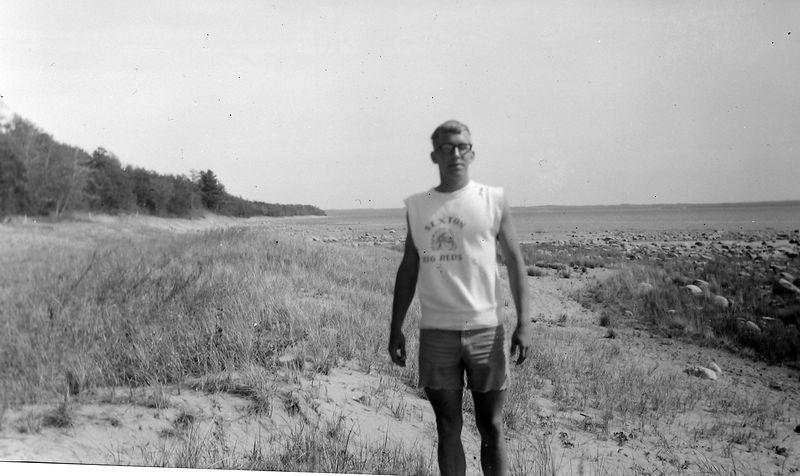 #160 Kenyon Stebbins near Cross Village MI 30 May'65