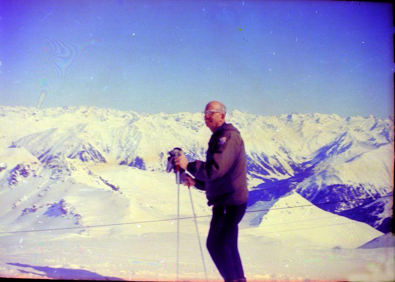 #123 Rowland Stebbins St Moritz or Davos Switzerland 10 Mar'65