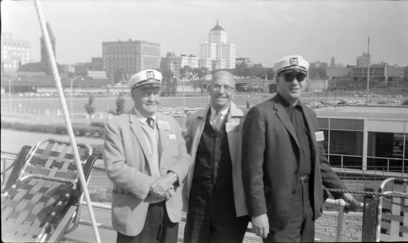 #84 Francis&Rowland&james Stebbins Chamber of Comm Cruise June'64