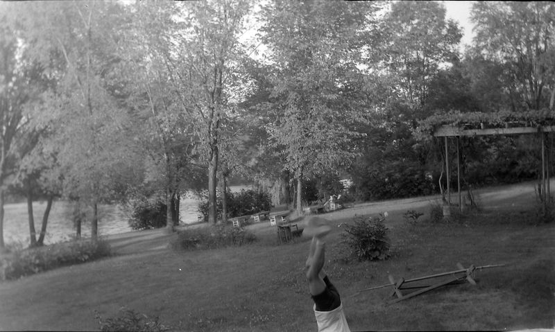 #81 Kenyon Stebbins doing Handstand 1710 MRD June'64
