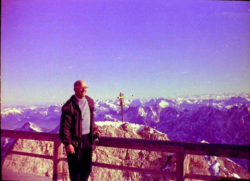 #14 C Rowland Stebbins top of Germany - Zugspitize 27 Jan'64