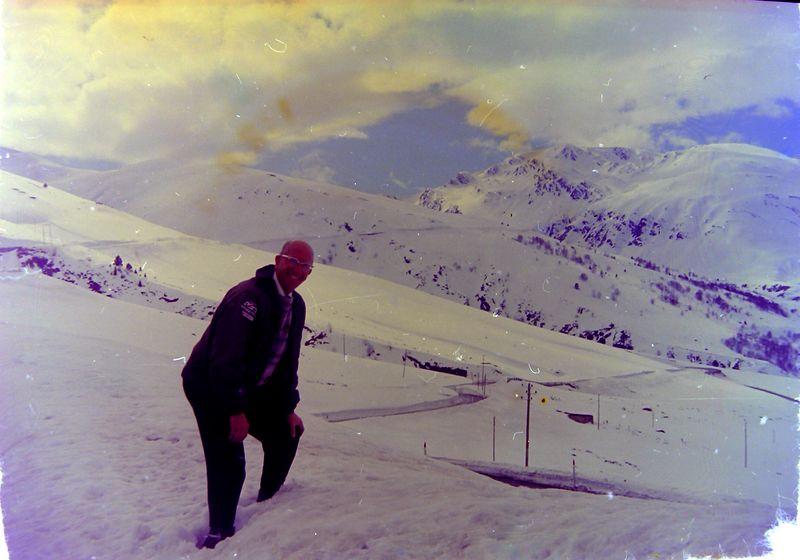 #152 Rowland Stebbins in Andorra 16 Mar'65