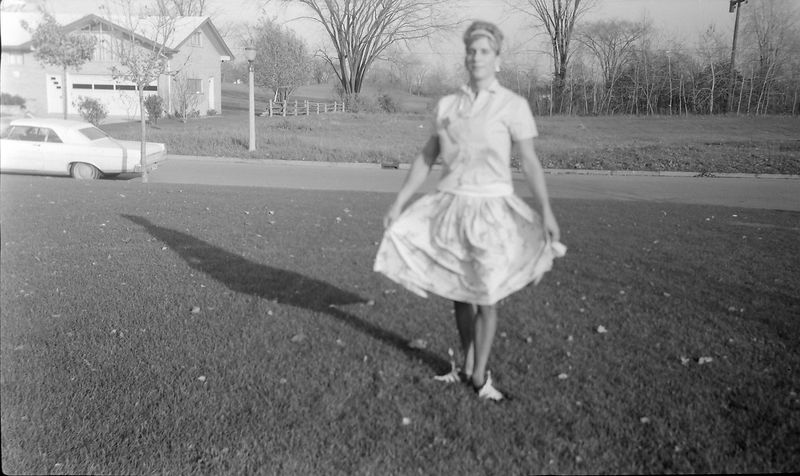 #186 Kenyon Stebbins in drag for (maybe) Scurcne school day 29 Oct'65