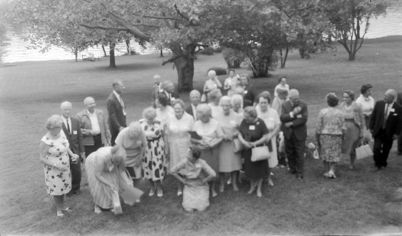 #65 maybe Rowlands Stebbins HighSchool reunion at 1710 MRD undated about 1965-66