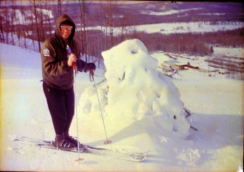 #41 Rowland Stebbins at Nub's Nob Jan'66