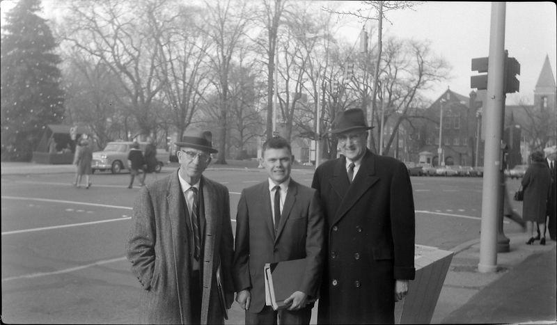 #13 Rowland Stebbins & Vin Hoeman & Dave Bishop Lansing Mi 17 Dec'65