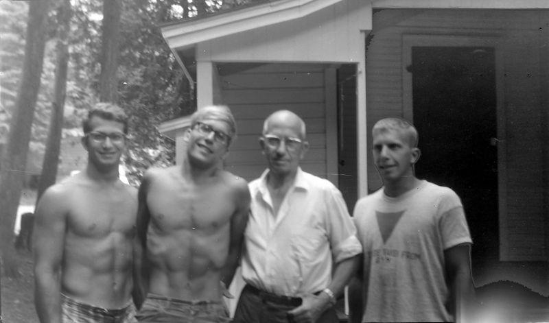 #68a Malcolm-Kenyon-Rowland-Winston Stebbins Roaring Brook undated about 1965-66