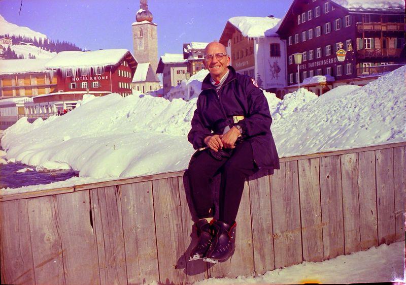 #139 Rowland Stebbins European Skiing 1968