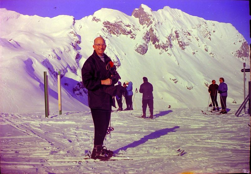 #133 Rowland Stebbins European Skiing 1968