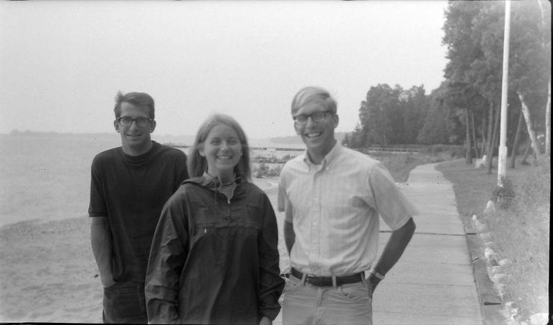 #169 Malcolm&Kenyon Stebbins & Jaon Glass Roaring Brook Aug'68