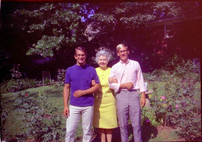 #157 Malcolm&Kenyon Stebbins & Isabelle (Buckles)  Robertson June'68