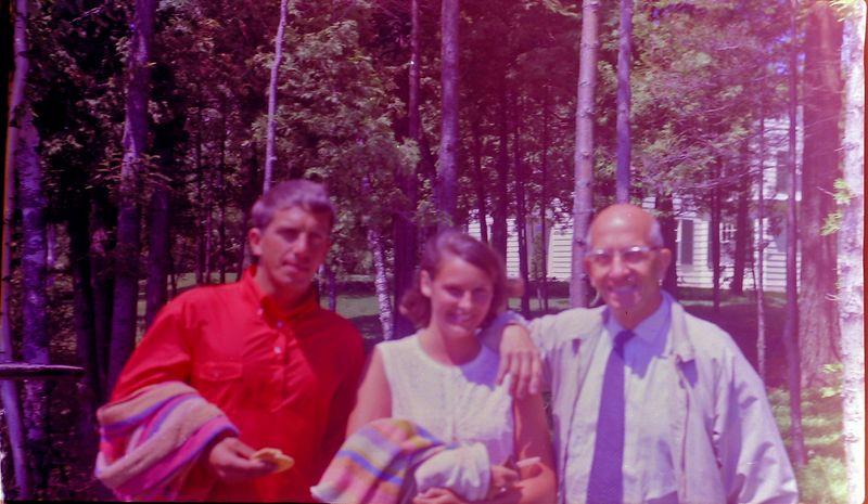 #164 Winston&Rowland Stebbins & Jan Post Roaring Brook June'68