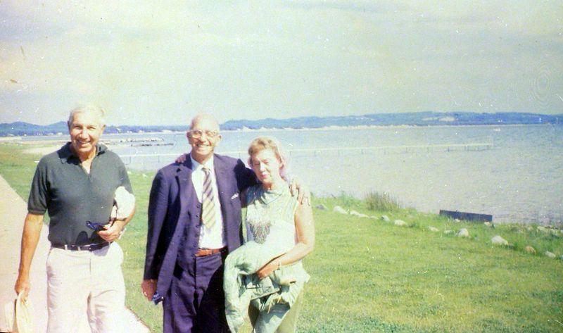 #119  Rowland Stebbins & George&Betty Arbaugh Roaring Brook Jne'69