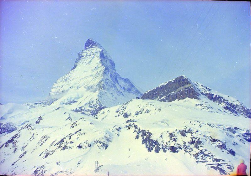 #87 Matterhorn Switzerland 6 Mar'69