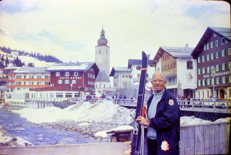 #106 Rowland Stebbins Lech Austria 19 Mar'69