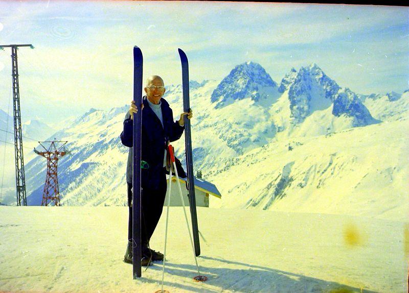 #82 Rowland Stebbins Chamonix France 5 Mar'69
