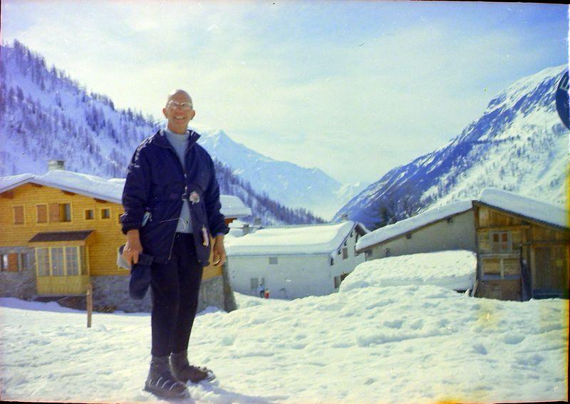 #81 Rowland Stebbins Chamonix France 5 Mar'69