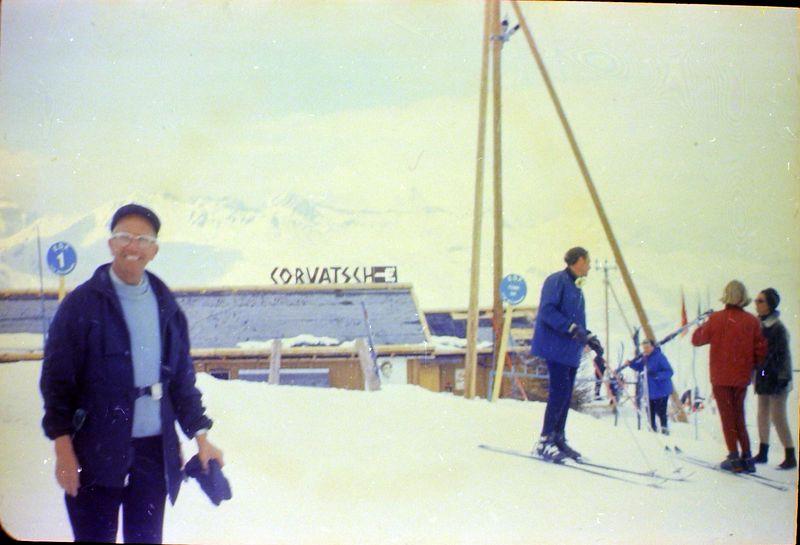 #108 Rowland Stebbins Coroatsch Switzerland 20 Mar'69