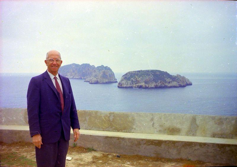 #97 Rowland Stebbins Western end of Palma Mallorca 11 Mar'69