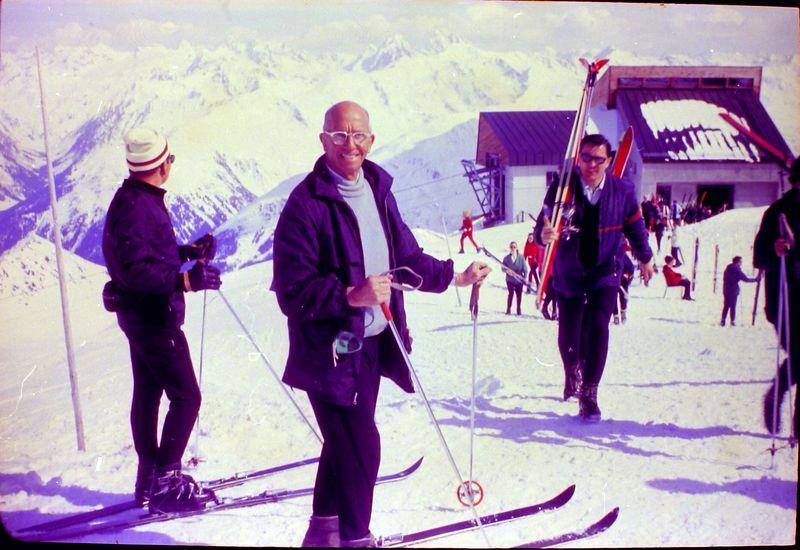 #107 Rowland Stebbins Davos Switzerland 20 Mar'69