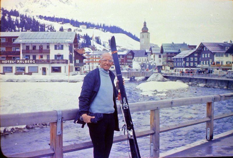 #104 Rowland Stebbins Lech Austria 19 Mar'69