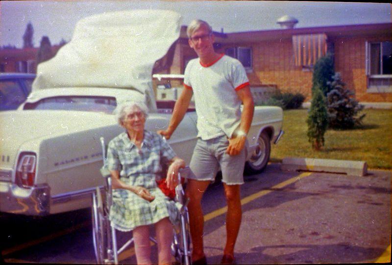 #135 Eliza Scott & Kenyon Stebbins Lansing nursing home Aug'69