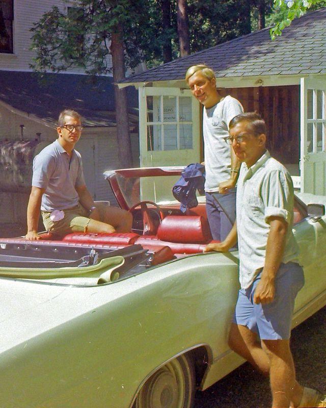 #142a Malcolm-Winston-Kenyon Stebbins Roaring Brook July'69