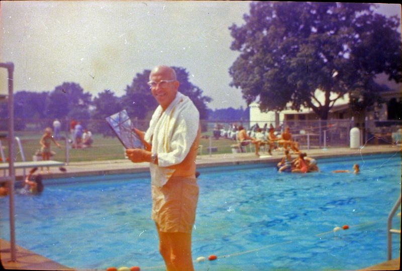 #139 ROwland Stebbins Lansing Country Club pool Aug'69