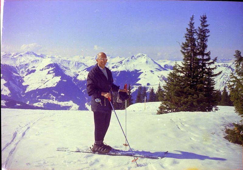 #102 Rowland Stebbins Pengelstien Kitzbuhel Austria 17 Mar'69