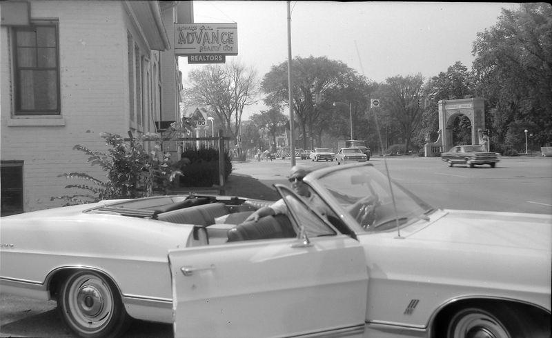 #14 Kenyon Stebbins at Advance Realty Co Lansing Sept'68