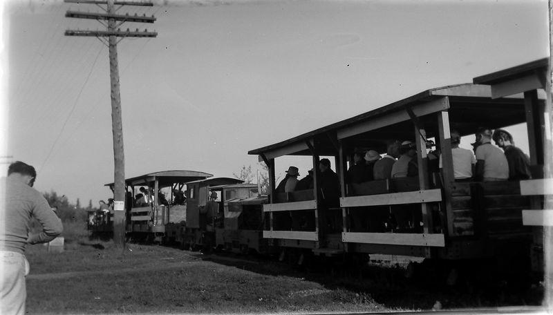 #251 Toonerville Trolley to Tahquaninon Falls Upper Penn Mi 1937