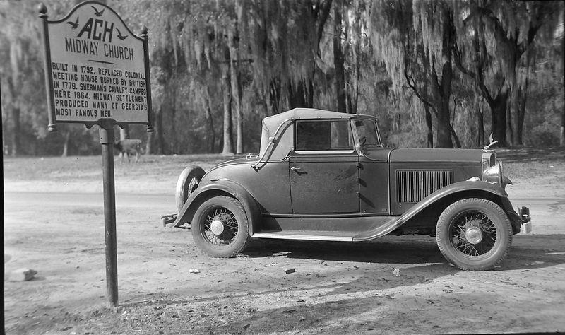 #151 CRSs car at Midway Church Georga