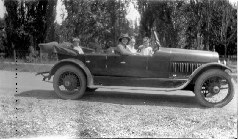 #99 Super six George GAS & Jamie & France & Anne 1918