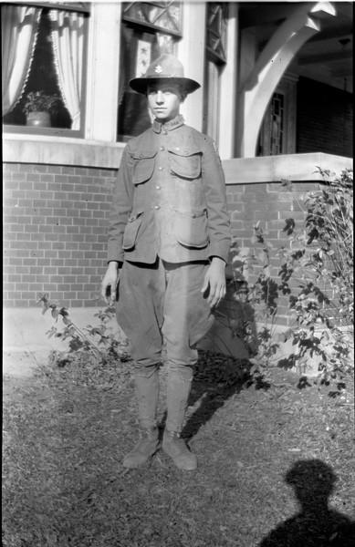#20 TEN-SHON - Rowland CRS - in Troop 15 scout uniform 109 N Walnut 1918
