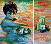 CACHAREL Eden 1995 Spain (simple page + half page) 'Antes del placer... - El Manantial del Eden - Línea para el placer del cuerpo - Regálate un instante de placer... - Por 950 pts. Cofre descubrimiento' (1 line lower right corner)