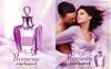 CACHAREL Promesse 2005 France (recto-verso with scent sticker) 'La nouvelle Eau de Parfum - Laetitia Casta pour Promesse'