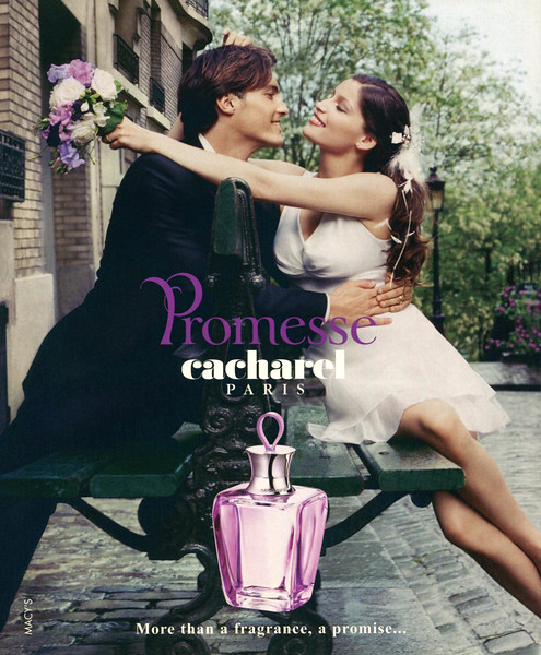 CACHAREL Promesse 2006 US (Macy's stores) format HB 'More than a fragrance, a promise'