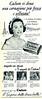 CADUM soap 1958 Italy 'Cadum vi dona una carnagione più fresca e vellutata e il profumo de Cadum è un delizioso profumo francese!'