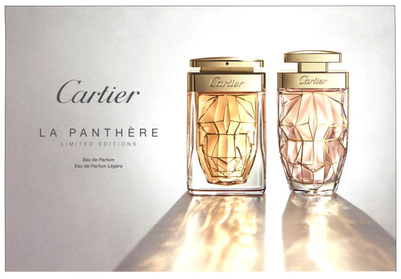 CARTIER La Panthère Eau de Parfum - Eau de Parfum Légère Limited Editions 2016 Belgium