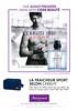 CERRUTI 1881 Sport 2016 France (Marionnaud stores) 'Le nouveau parfum - La fraîcheur sport selon Cerruti'