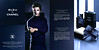 Bleu de CHANEL Eau de Parfum & Limited Edition Prestige Soap 2014 Hong Kong (recto-verso glossy card 24 x 24 cm (folded in four)