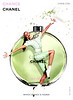 CHANEL Chance Eau Fraîche 2012 US 'Which Chance is yours?'<br /> MODEL: Charlotte Di Calypso (France), PHOTO: Jean-Paul Goude