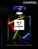 CHANEL Nº 5 L'Eau (Christmas campaign) 2017 Andorra 'Chanel agite l'esprit de Noël et y met de la couleur, de l'énergie...'